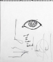 """Michael Jackson Drawing """"Our Eyes Are The Windows To The World"""""""