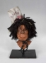 """Michael Jackson """"Scarecrow"""" Molded Foam Makeup Model From The Wiz (1978)"""