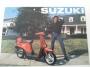 Michael Jackson Official Promo Suzuki Love Motorbike Pamphlet #4 (Japan)
