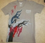 Michael Jackson THE IMMORTAL World Tour Gray Men's T-Shirt (USA/Canada)