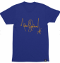 Michael Jackson Signature Series Official Blue T-Shirt 2018 (USA)