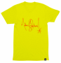 Michael Jackson Signature Series Official Yellow T-Shirt 2018 (USA)