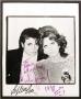 Michael & Sophia Loren Signed Photo To David Gest (USA)