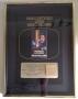 Moonwalker RIAA Video Gold Sales Award Presented To Michael Jackson (USA)