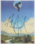 Neverland Stationery Signed By Michael *Color Paper* (Date Unknown)