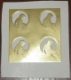 Neverland Valley Ranch Gold Sticker Sheet