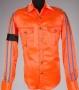 Orange Satin Shirt With Black Armband (1992)
