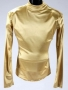 Remember The Time Gold Turtle Neck Bodysuit (1992)