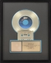 """Rock With You RIAA Gold Award For The Sale Of 500,000 Copies Of The 7"""" Single In USA"""