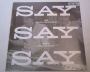 "Say Say Say 2015 RDS Limited Ed Clear 12"" Vinyl (USA)"