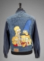 Simpsons Denim Jacket Signed By Michael Jackson (1990's)