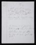 """T.S. (""""D.S."""") Partial Handwritten Lyrics #5 (1994)"""