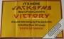 The Jacksons Victory Album Promo Poster (USA)