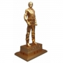 """The King Of Pop Official 11"""" Gold PVC Statue (Japan)"""