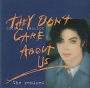 They Don't Care About US (5 Mixes) Cardboard CD Single (Australia)