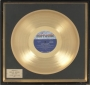 Third Album Motown Records Gold Award For The Sale Of 1 Million Copies Of The Album In USA