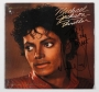 "Thriller 12"" Single Signed By Michael ""This Is Only The Start"" (1983)"