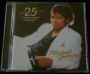 Thriller 25th Anniversary Commercial CD Album (Brazil)