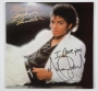 Thriller Album Signed By Michael Jackson #04 (1982)