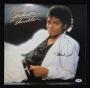Thriller Album Signed By Michael Jackson #06 (1982)