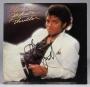 Thriller Album Signed By Michael Jackson #09 (1982)