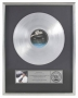 Thriller LP RIAA Platinum Award *Presented To David Foster* (1983)