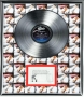 Thriller Platinum Presentation Award With Signed Plaque (1983)