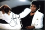 "Thriller Portrait Signed 14""x11"" Color Photograph (1983)"