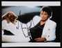"Thriller Portrait Signed 14""x11"" Color Photograph #3 (1983)"
