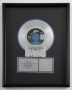 Thriller RIAA Platinum Record Award *Presented To David Glew* (1983)
