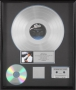 Thriller RIAA Platinum Award For The Sale Of 1,000,000 Copies Of The Album In USA