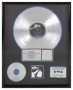 Thriller RIAA Platinum Award *Presented To Epic Records* (1983)