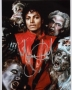 Thriller Video Signed Color Photograph *Closeup* (1983)