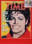 Time Magazine Poster Signed By Michael (1984)