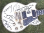 Tito Jackson's Guitar Signed By All The Jacksons (1984 - USA)