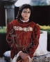Victorian Dress Colour Photo Signed By Michael #1 (1988)