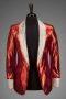 Victory Tour Stage Worn Red Lamé Jacket (1984)
