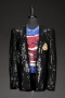 Victory Tour '84 Worn Black Sequined Jacket (USA 1984)