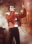 "Victory Tour ""Beat It"" Photo Signed By Michael #2 (1984)"