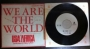 "We Are The World (USA For Africa) Promo 7"" Single (Japan)"