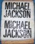 """Michael Jackson"" White Bootleg Wristbands (Europe)"