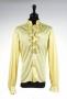Yellow Long-Sleeve Tuxedo Shirt Worn By Michael Jackson (1970s)