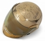 30th Anniversary Concerts Gold Painted Helmet Worn By Michael Jackson (2001)