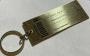 30th anniversary brass Keychain