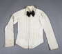 Academy Awards White Shirt With Rhinestones And Black Bow Tie (1981)