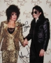 American Music Awards Photo Signed By Michael And Elizabeth Taylor #1 (1993)