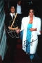 American Music Awards Photo Signed By Michael And Elizabeth Taylor (1986)