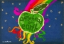 An Applehead On Earth Comic Book (Germany)