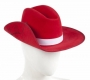 Australian Telethon Red Akubra Hat Worn By Michael Jackson (1985)