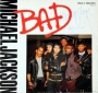 "BAD 12"" Single Signed By Michael (1987)"